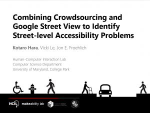 06 - Crowdsourcing Sidewalk Accessibility